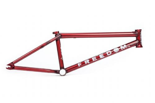BSD Frame - Freedom - Flat Trans Red - 21.5""